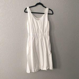 GAP white cotton dress size Sm